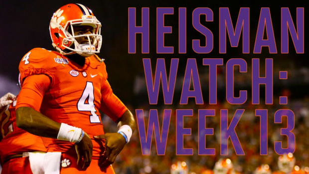 Heisman Watch: Week 13 review -- IMAGE