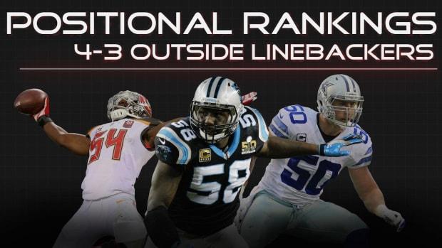 Positional Rankings: 4-3 outside linebackers IMAGE