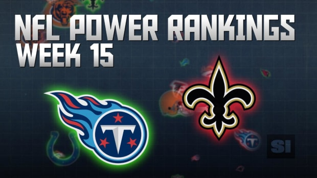 NFL Power Rankings: Week 15 IMAGE