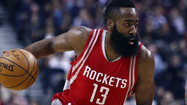 James Harden signs four-year, $118M extension with Rockets -- IMAGE