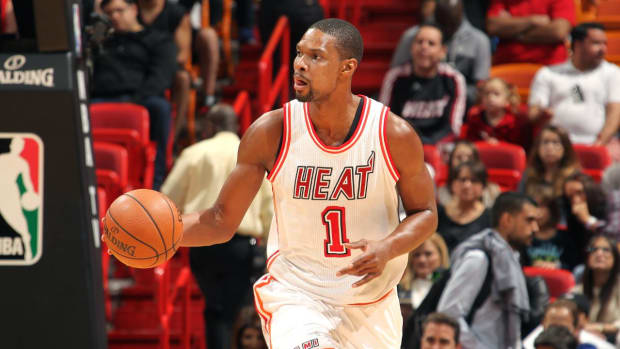 Report: Chris Bosh expects to be medically cleared to rejoin Heat - IMAGE