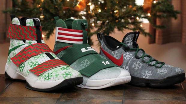 NBA stars debut Christmas Day shoes - IMAGE