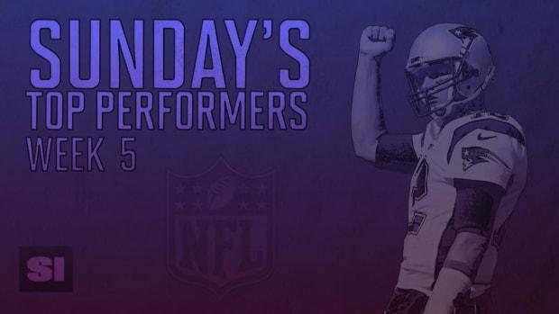 Sunday's top performers: Week 5 IMAGE
