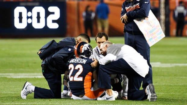Report: Broncos place C.J. Anderson on IR--IMAGE