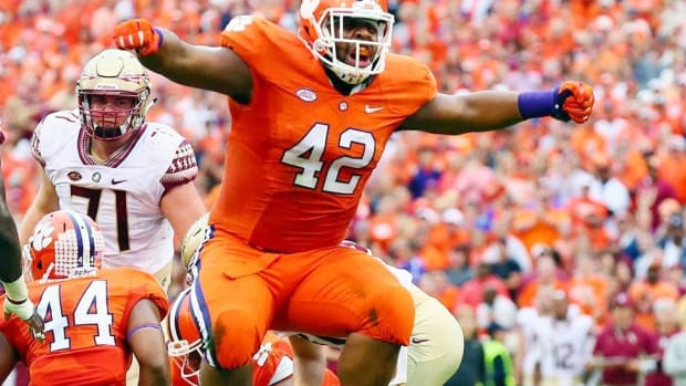 No drop-off: Clemson defensive front preps to keep assembly line humming; Punt, Pass & Pork