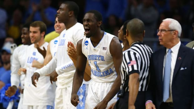 The Tar Heels' X-factor? Theo Pinson, who has stolen the spotlight and the podium in UNC's Final Four run