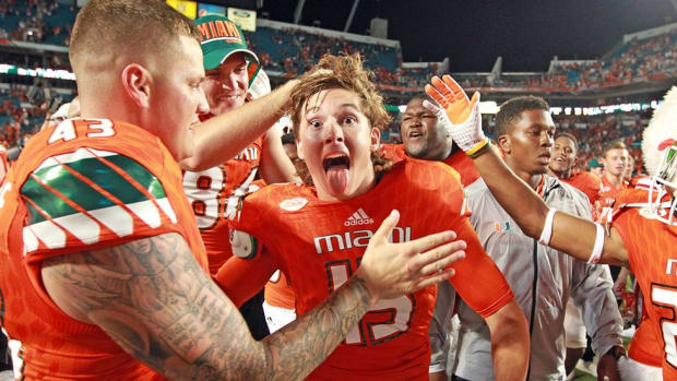 Miami kicker Michael Badgley discusses Florida State, his future in sports broadcasting & more