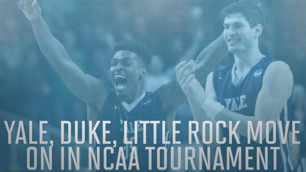 Yale, Duke, Little Rock headed to second round -- IMAGE