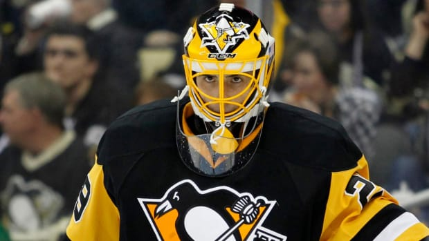 Penguins G Marc-Andre Fleury out with concussion - IMAGE