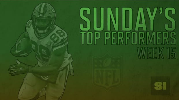 Sunday's Top Performers: Week 15 IMAGE