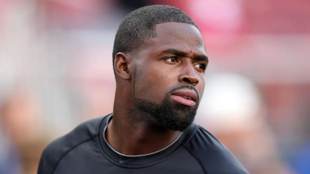 Torrey Smith criticizes NFL over domestic violence -- IMAGE