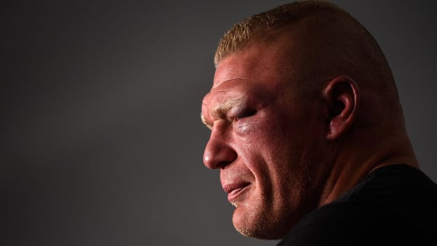 Brock Lesnar failed a second drug test on day of UFC 200 - IMAGE