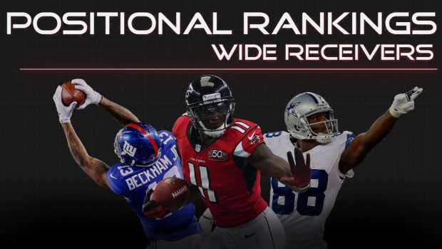 Positional Rankings: Wide receivers IMAGE