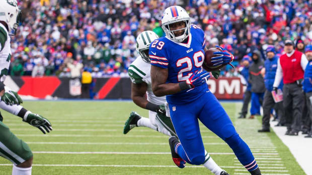 Bills release RB Karlos Williams, DL Marcell Dareus entering rehab --IMAGE
