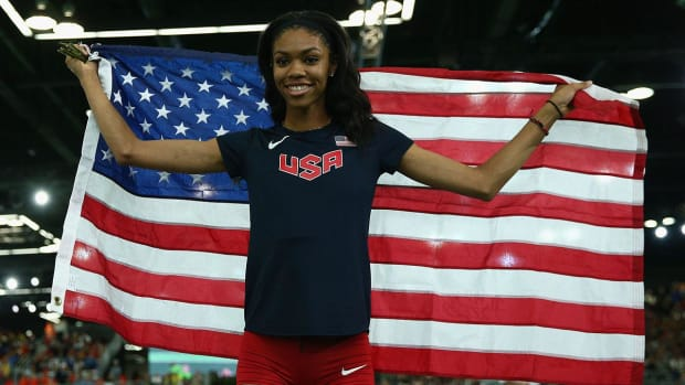 Get to know Olympian Vashti Cunningham - IMAGE