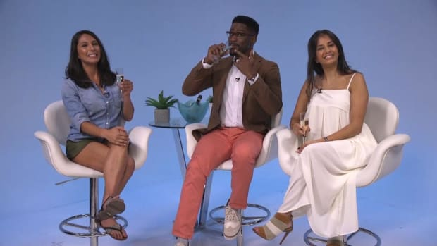Sports Style Swipe: Nate Burleson helps critique NFL players' training camp arrival fashion IMG