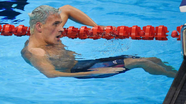 Ryan Lochte, teammates to face discipline from USOC -- IMAGE