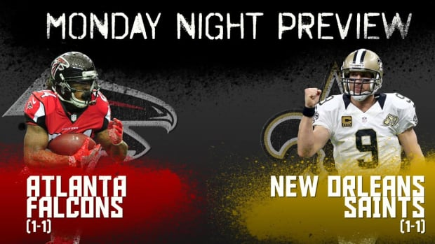 Monday night preview: Falcons vs. Saints IMAGE