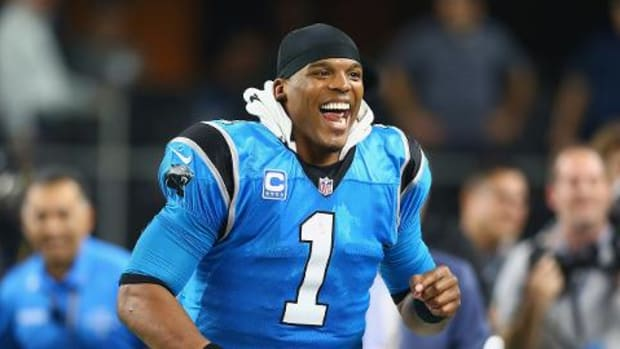 Watch: Panthers QB Cam Newton calls birth of son 'a wonderful thing' -- IMAGE