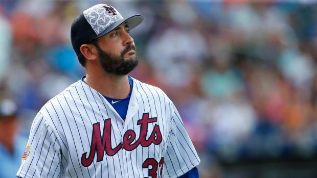 Mets pitcher Matt Harvey considering season-ending surgery - IMAGE
