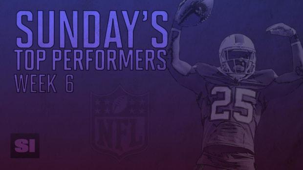 Sunday's Top Performers: Week 6 IMAGE