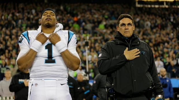Cam Newton doesn't start, Seahawks crush Panthers 40-7 - IMAGE