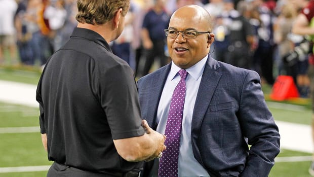 Report: Monday Night Footballannouncer Mike Tirico leaving for NBC--IMAGE
