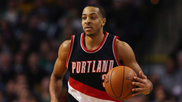 C.J. McCollum wins NBA Most Improved Player Award - IMAGE