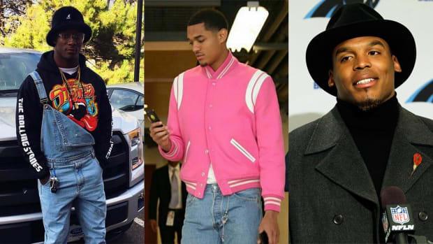 Sports Style Swipe: Will Parks, Jordan Clarkson and Cam Newton's outfit that got him benched IMG