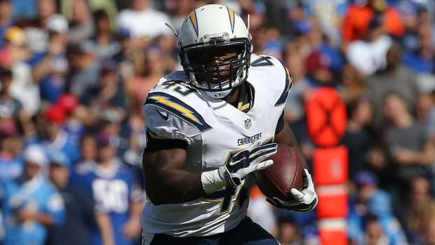 Report: Chargers RB Branden Oliver (Achilles) out for season--IMAGE