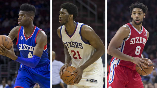 Sixers' Nerlens Noel upset at team's center situation IMAGE