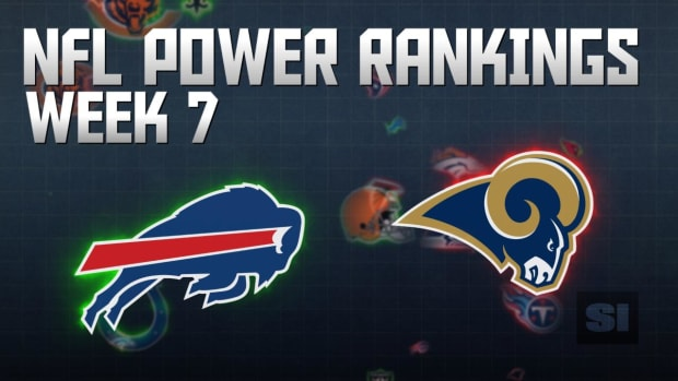 NFL Power Rankings: Week 7 IMAGE