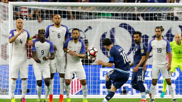 USA blanked by Messi, Argentina in Copa America semifinals--IMAGE