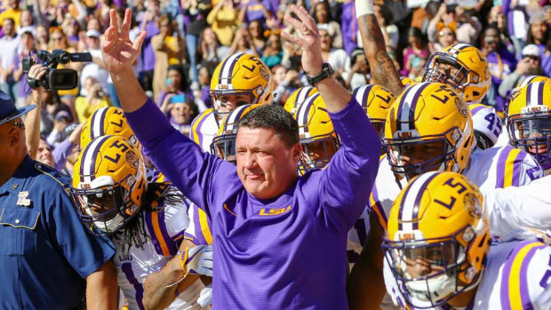 Paradise Found: Ed Orgeron has his dream job as LSU's head coach. Now, he must return the Tigers to the national elite.