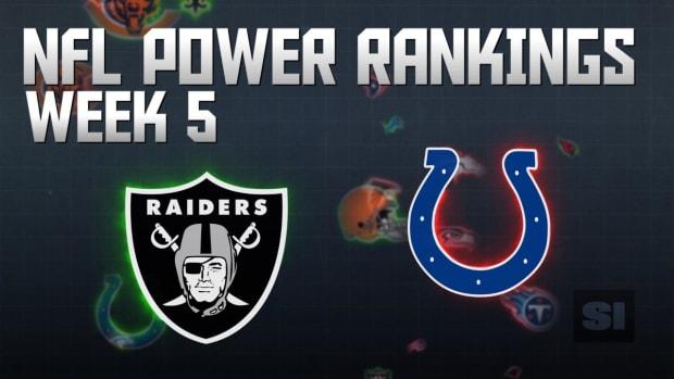 NFL Power Rankings: Week 5 IMAGE