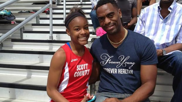 Tyson Gay's 15-year-old daughter fatally shot in Kentucky - IMAGE