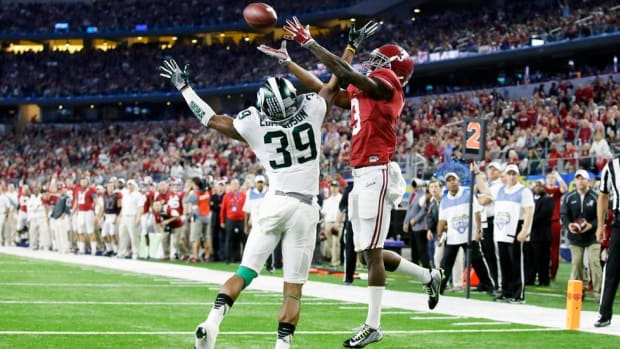 Calvin Ridley is there exactly when you need him, and Alabama's freshman receiver is only getting better