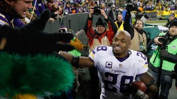 Vikings beat Packers 20-13, clinch NFC North - IMAGE