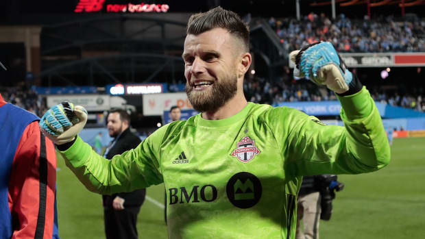 Quentin Westberg and Toronto FC are in MLS Cup