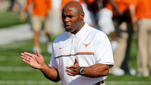 USF hires Charlie Strong as head football coach--IMAGE
