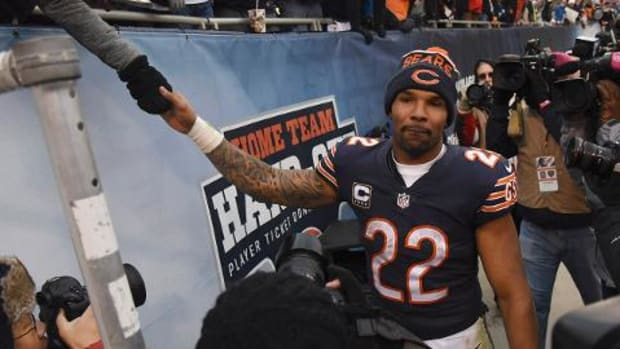 Matt Forte leaves message for Bears in locker - IMAGE