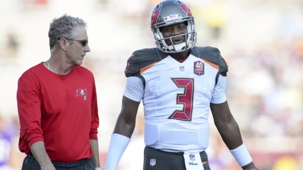Report: Bucs, OC Dirk Koetter finalizing deal to become head coach IMAGE