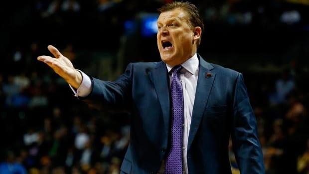 Stephen F. Austin Head Coach Brad Underwood heading to Oklahoma State - IMAGE