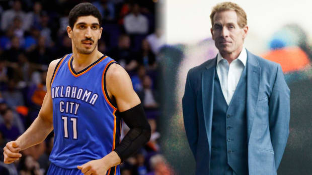 Thunder's Enes Kanter mocks Skip Bayless for bad prediction - IMAGE