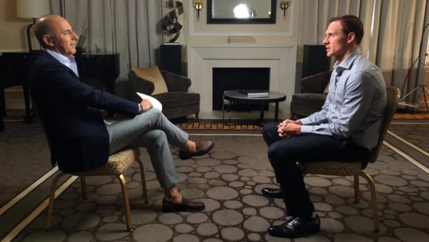 Ryan Lochte in first post-Rio interview: 'I over-exaggerated that story'--IMAGE