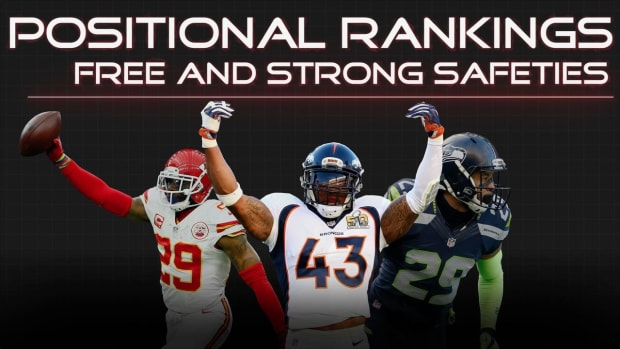 Positional Rankings: Safeties IMAGE