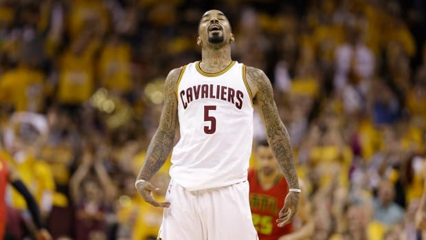 Report: Cavs' J.R. Smith will decline option, test free agency -- IMAGE