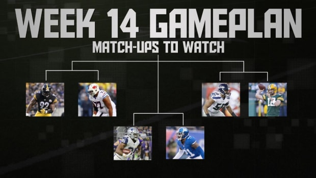 NFL's Week 14 Gameplan IMAGE