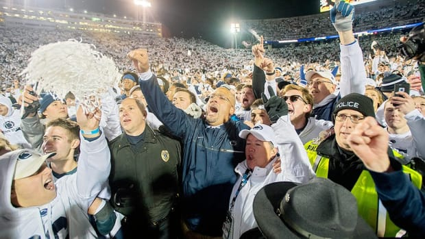 Turning the corner? Penn State's upset of Ohio State proves what can happen when it pulls together; Punt, Pass & Pork