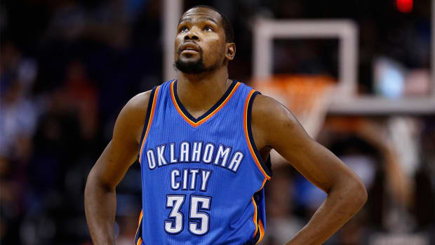 Kevin Durant on free agency: 'I haven't even thought of it' - IMAGE